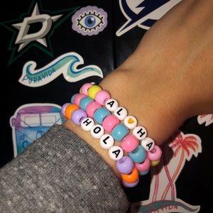 Jewelry - Trendy Vsco Girl Pony Bead Bundle